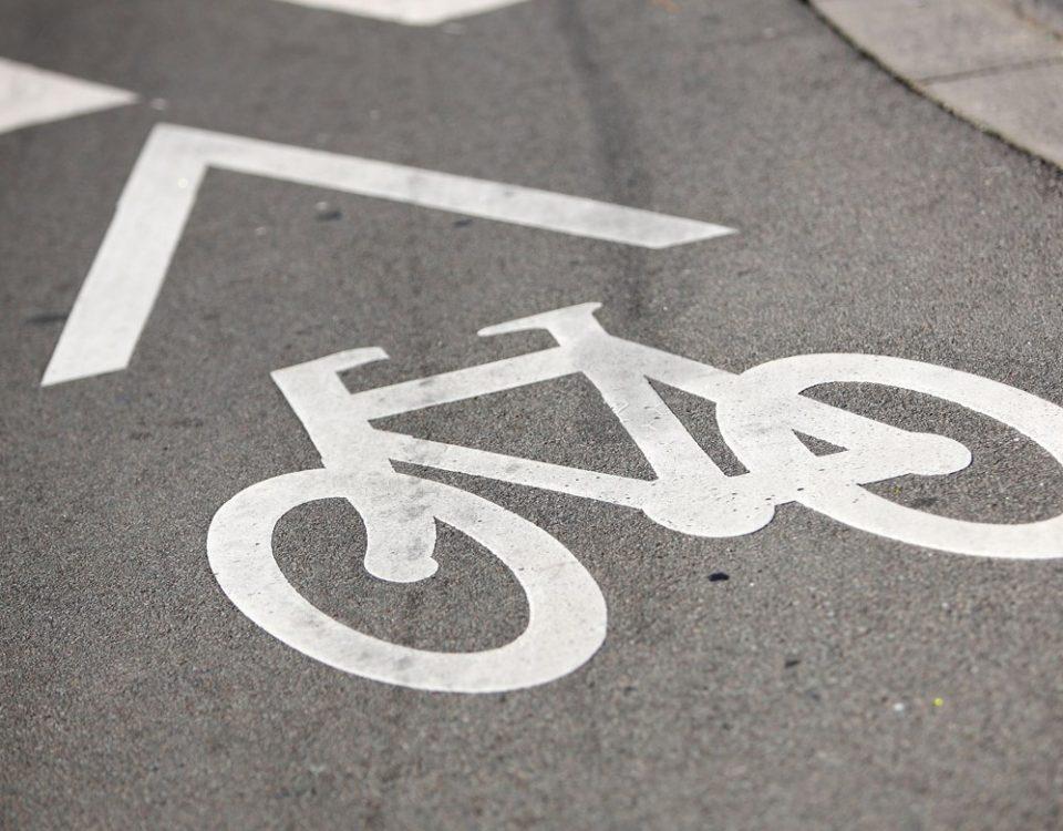 La disparition de pistes cyclables à WSP