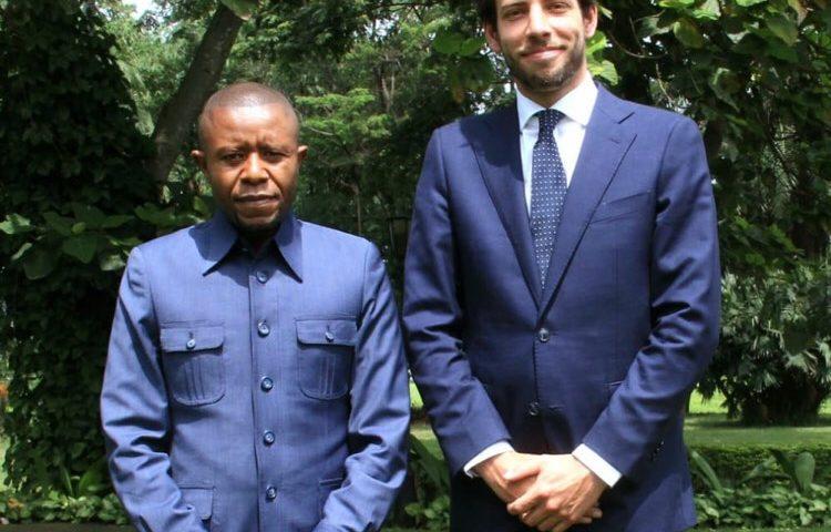 Alexandre Pirson dans la province du Nord-Kivu (RDC)